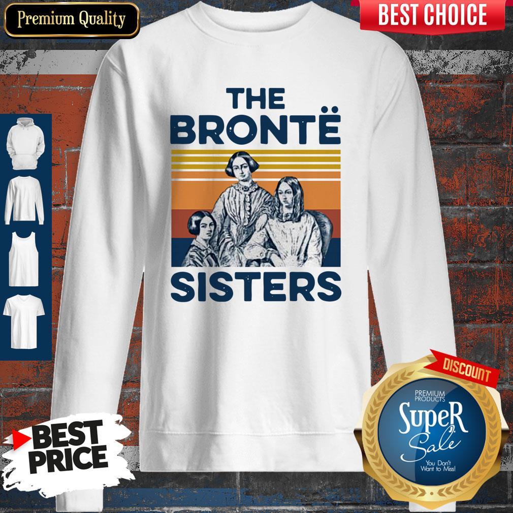 Awesome Book The Bronte Sister Vintage Sweatshirt