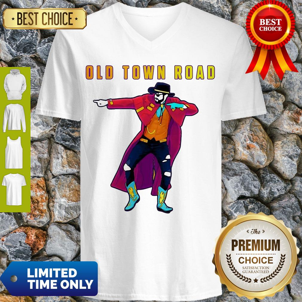 Nice Old Town Road Lil Nas X Dance V-neck