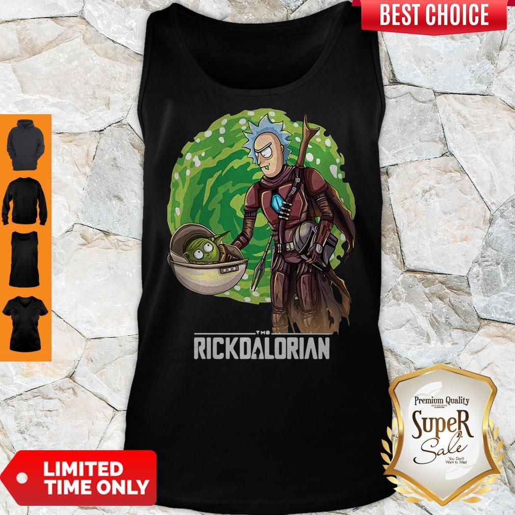 Top Rick And Morty The Rickdalorian Tank Top