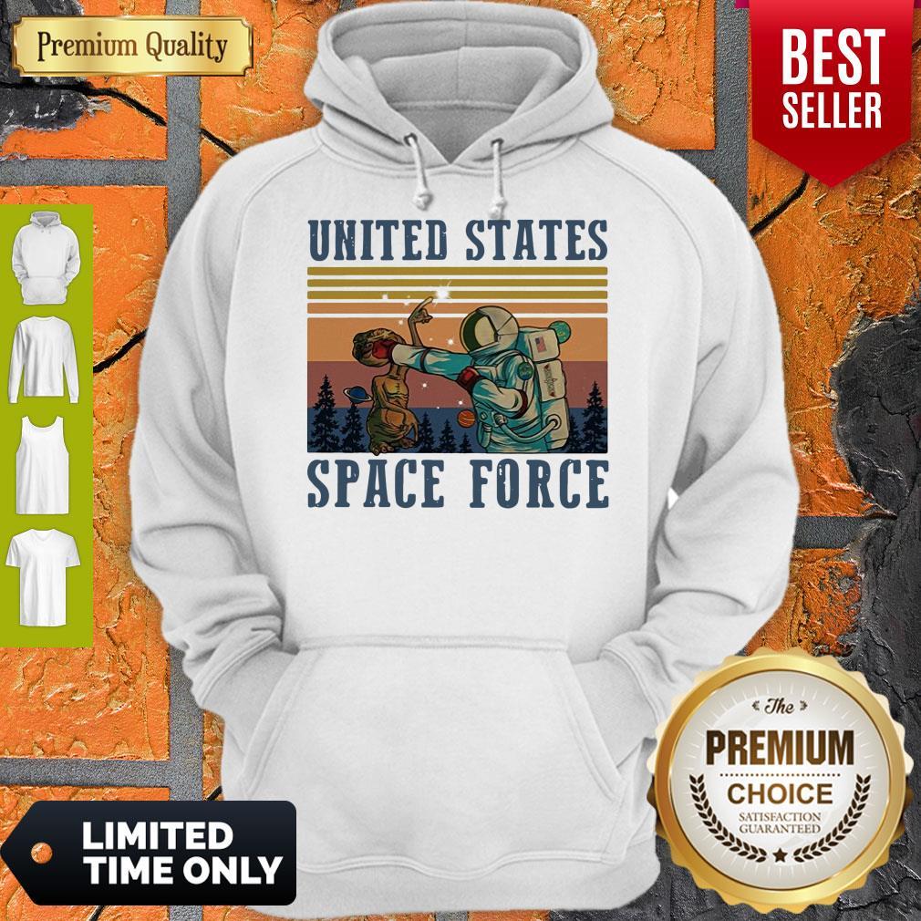 Top United States Space Force Vintage Hoodie