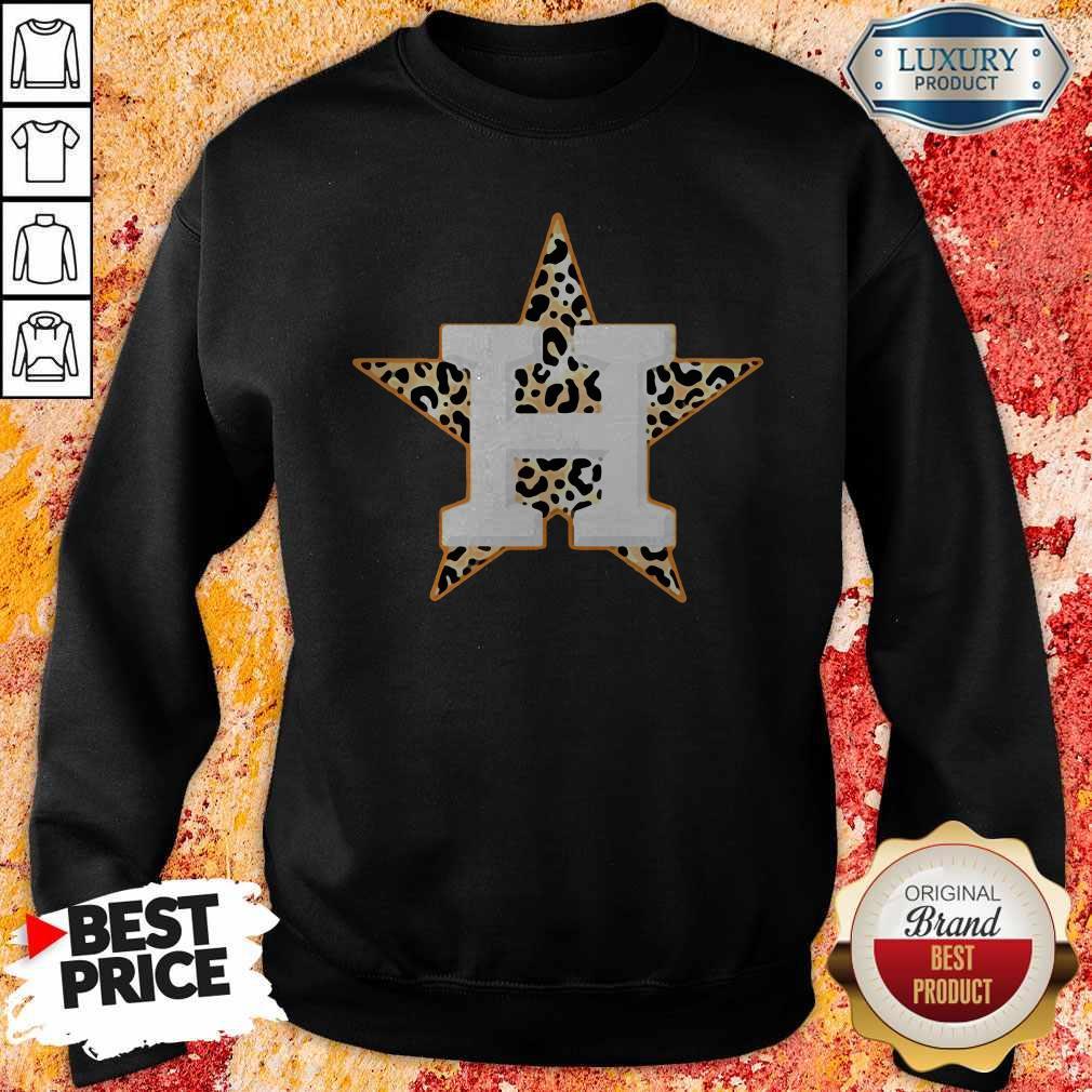 Official Houston Astros Leopard  Sweatshirt
