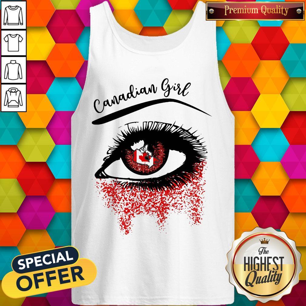 Eye Canadian Girl Classic Tank Top