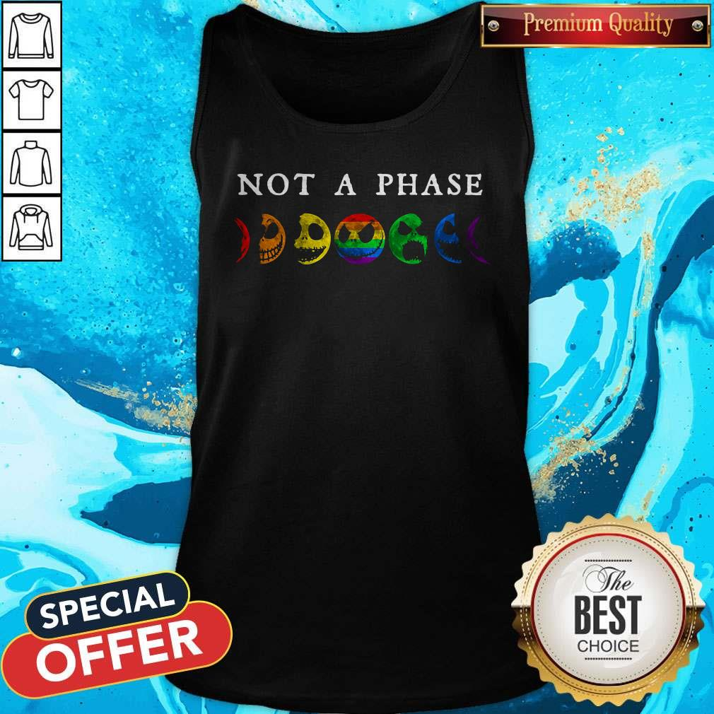 LGBT Not A Phase Tank Top
