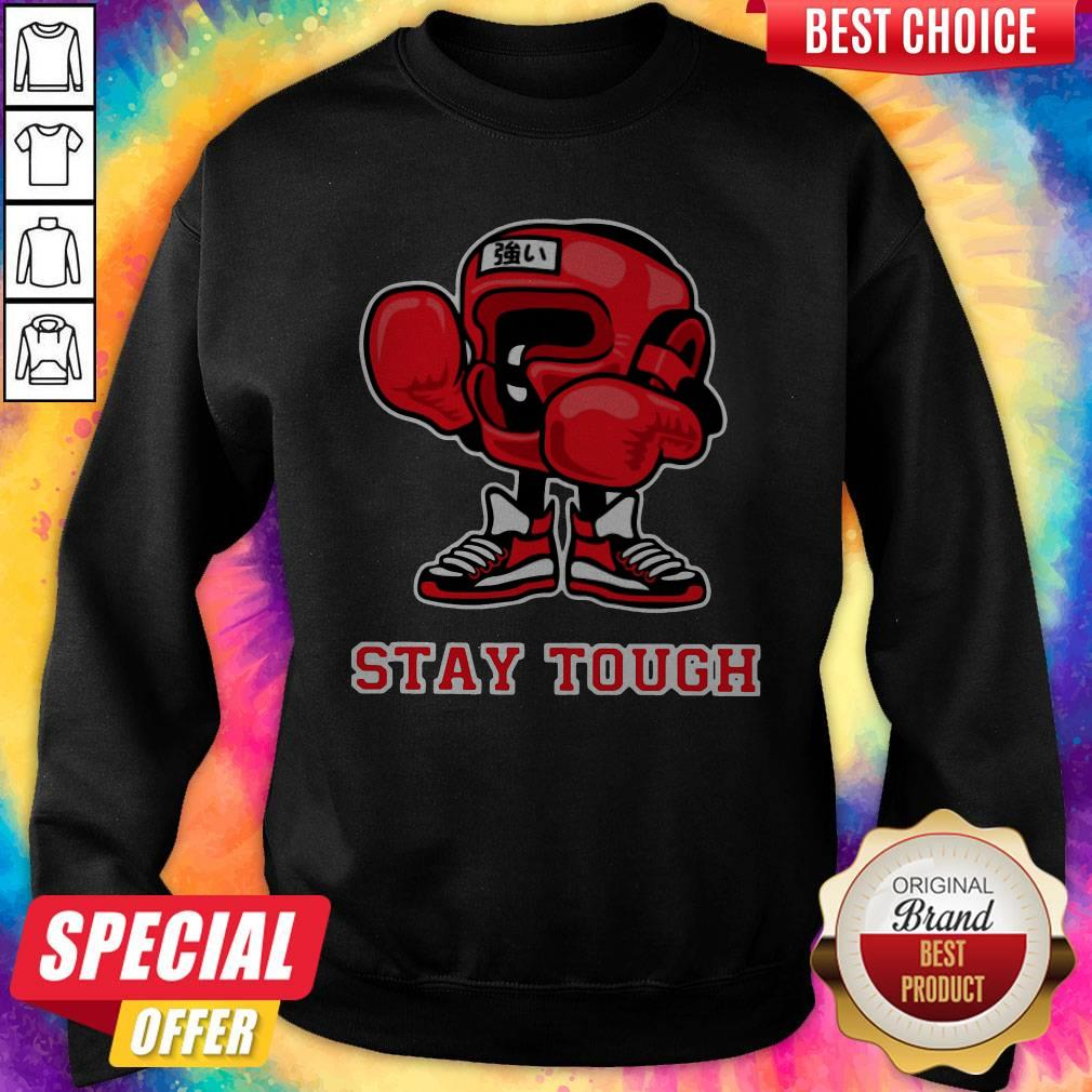 Nice Boxing Stay Touch Hoodiea