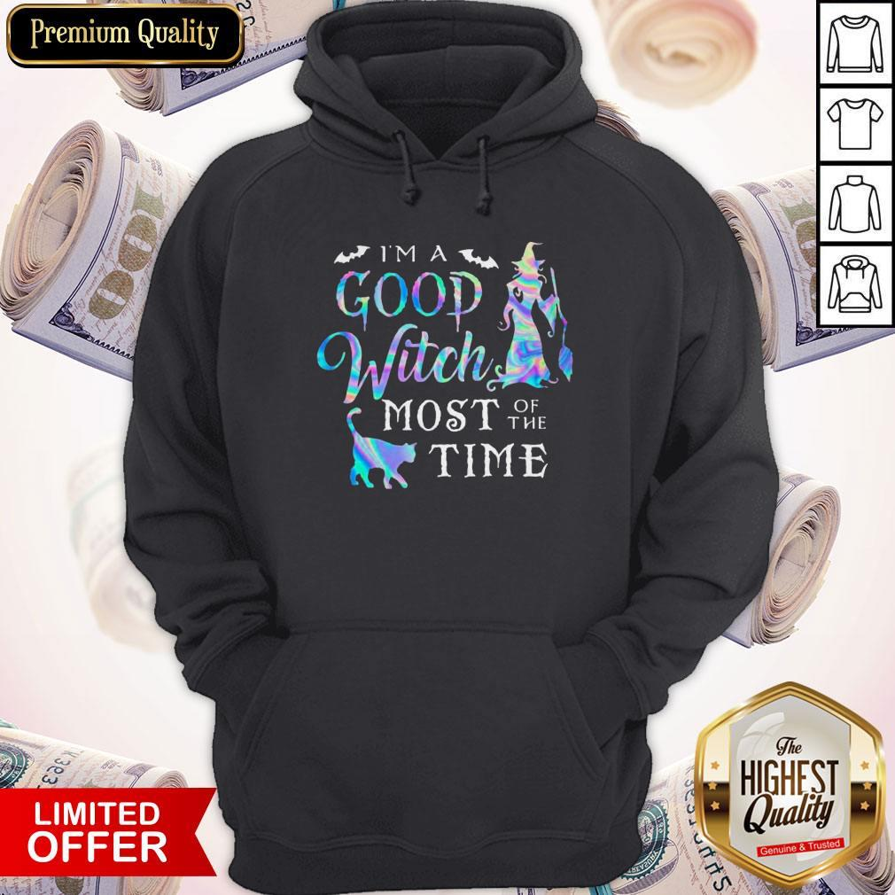 Good I'M A Good Witch Most Of The Time Hoodiea