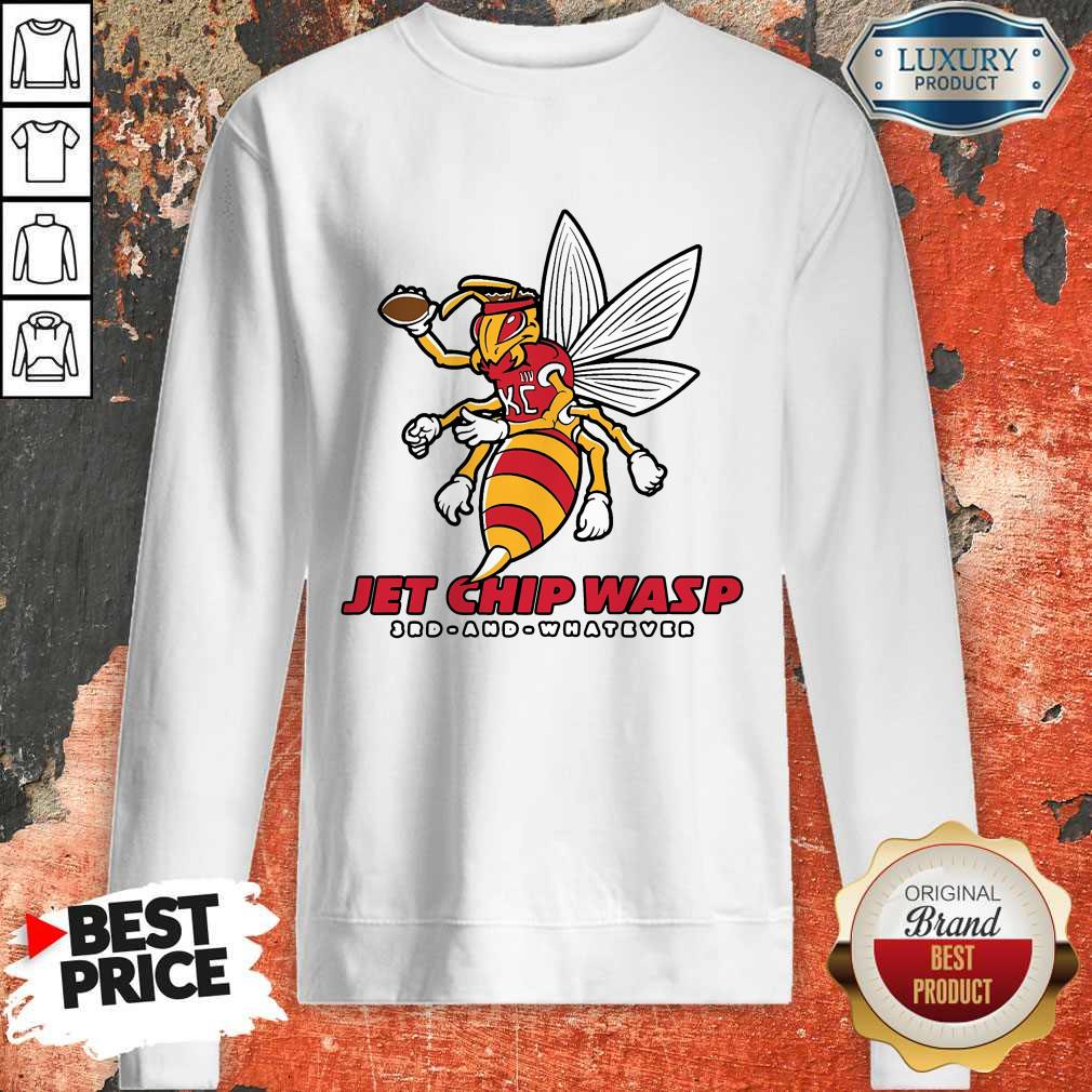 Jet Chip Wasp Kansas City Chiefs 3rd And Whatever weatshirt