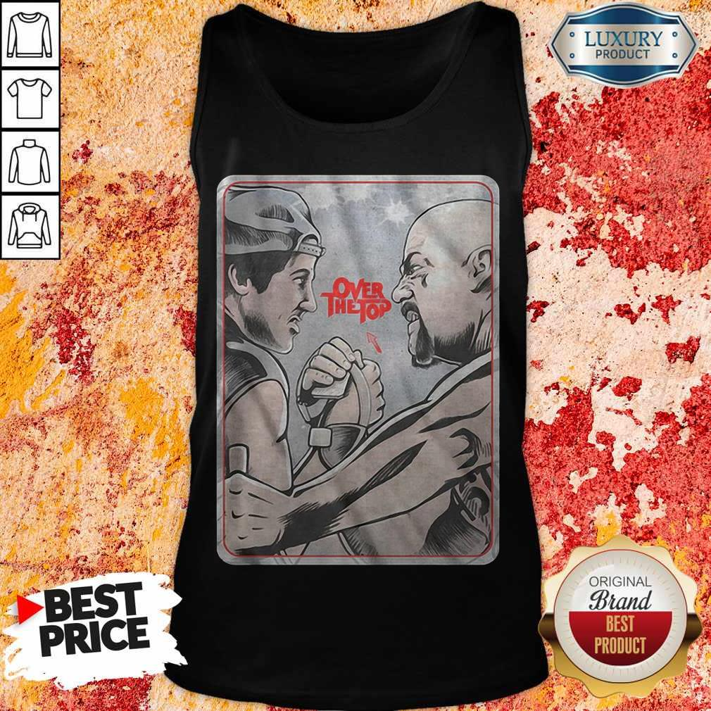 Official Lincoln Hawk vs Bull Hurley Over The Top Tank Top