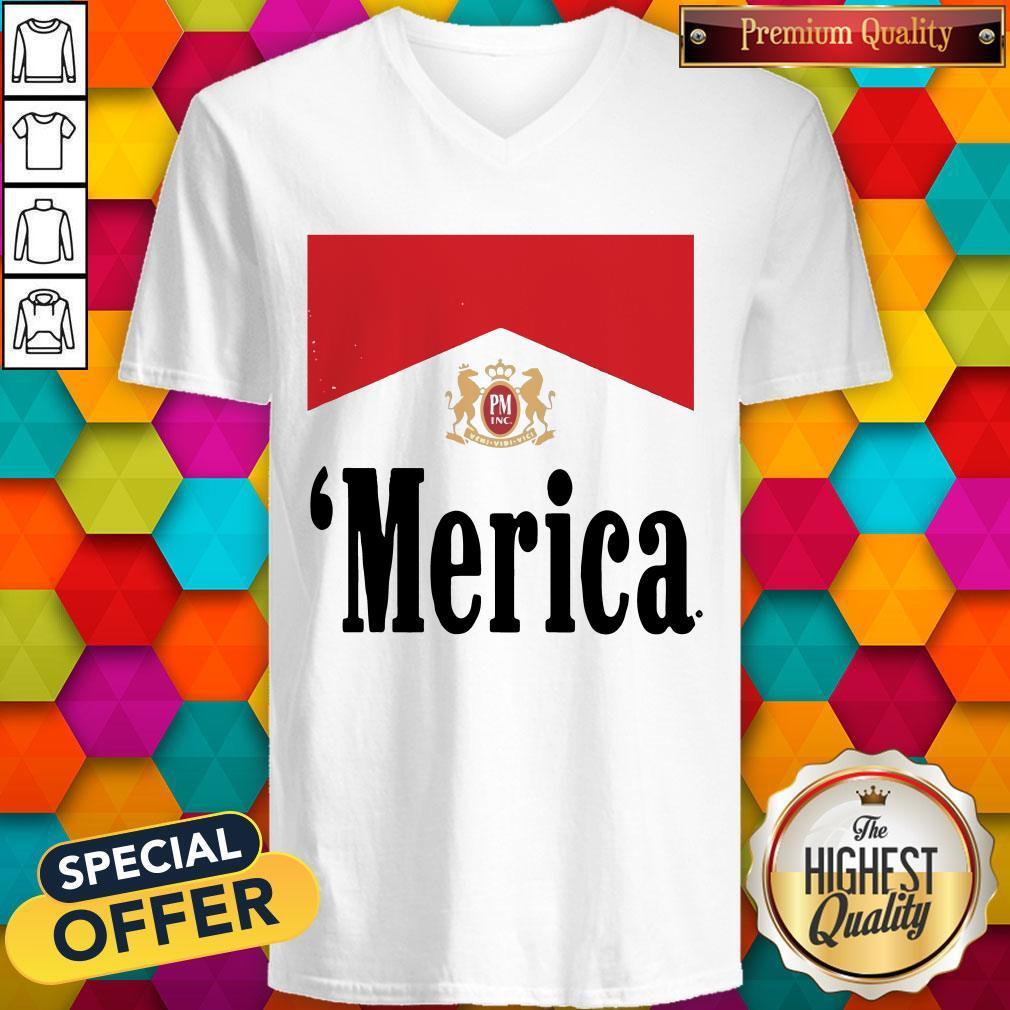 Official Philip Morris Merica V- neck