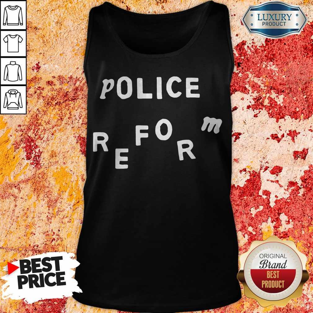 Official Police Reform Tank Top