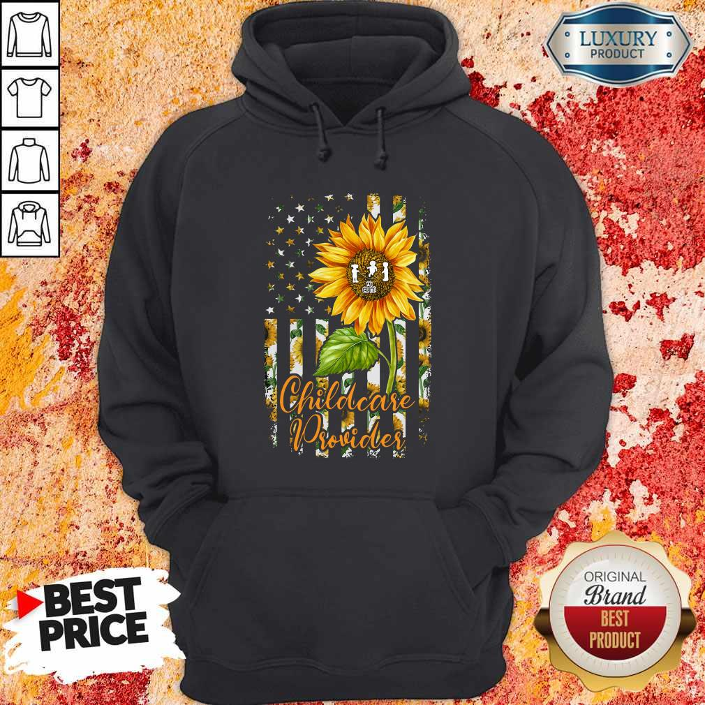 Official Sunflower Proud Childcare Provider Hoodiea
