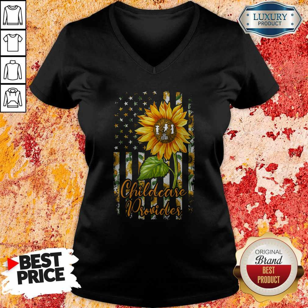 Official Sunflower Proud Childcare Provider Tank Top