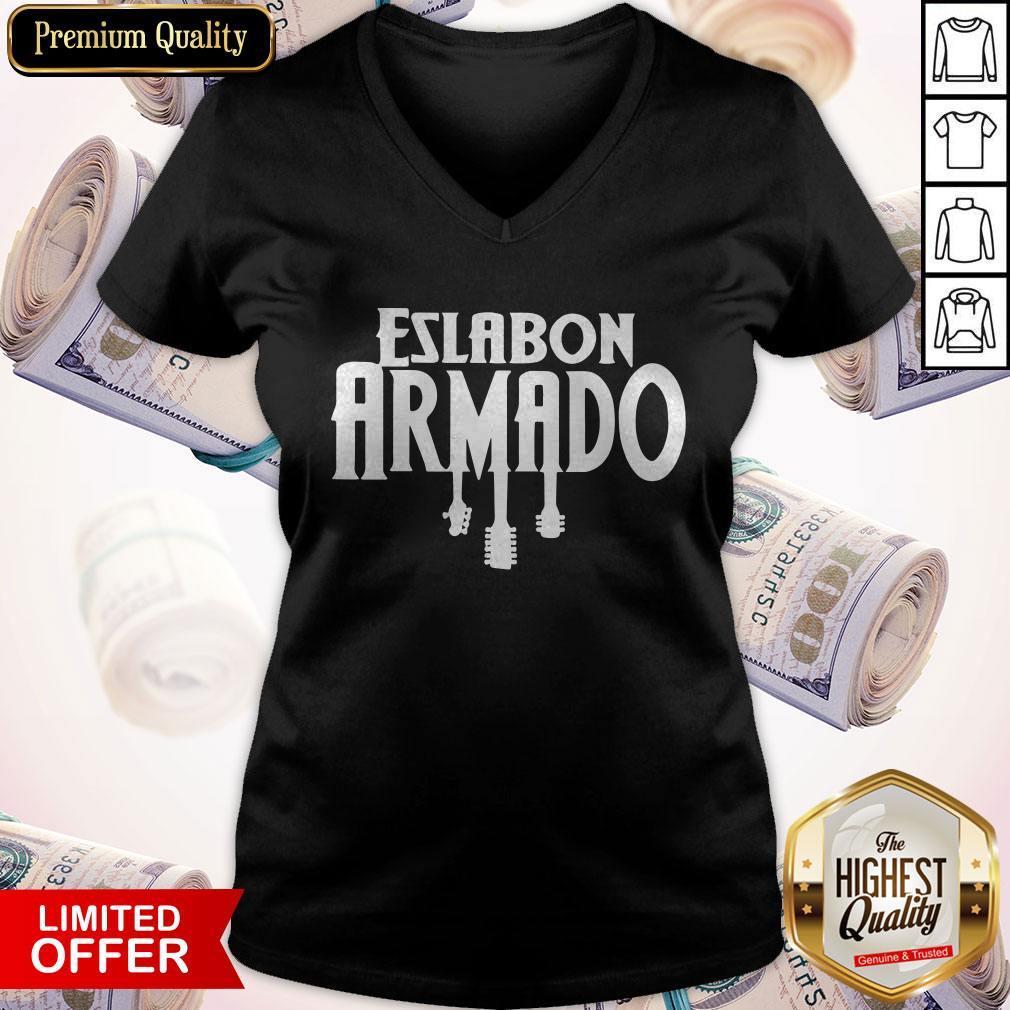 Premium Eslabon Armado Guitar V- neck