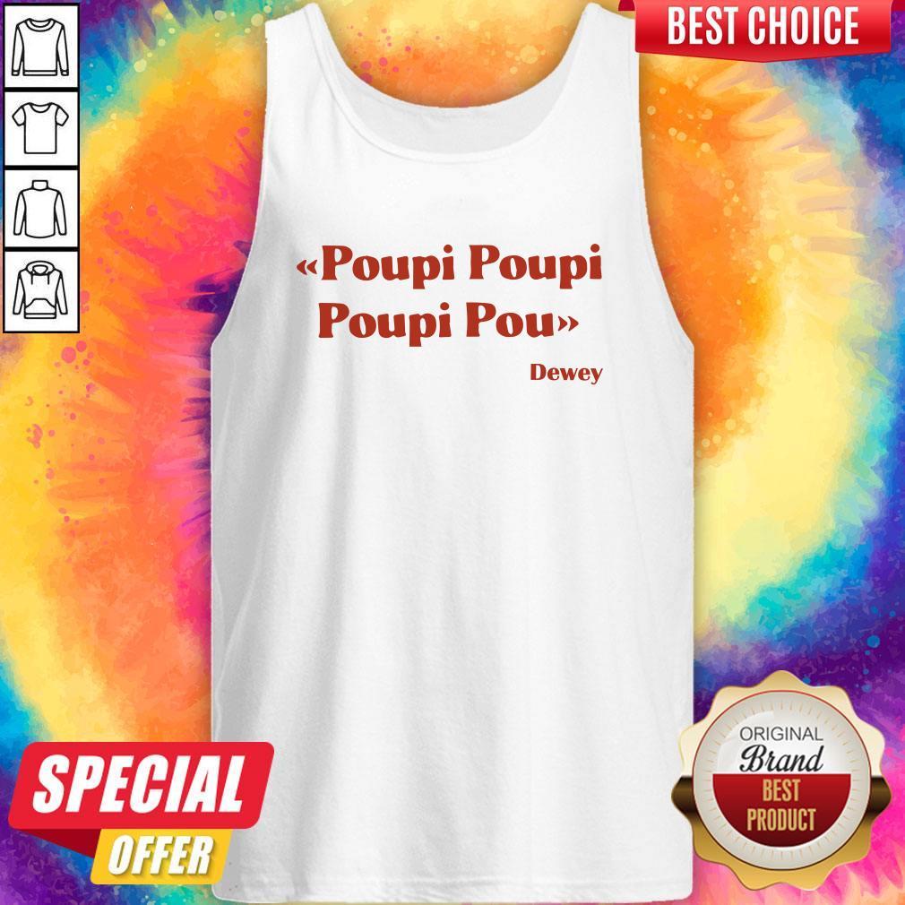 Premium Triple Poupi Poupi Poupi Pou Dewey  Tank Top