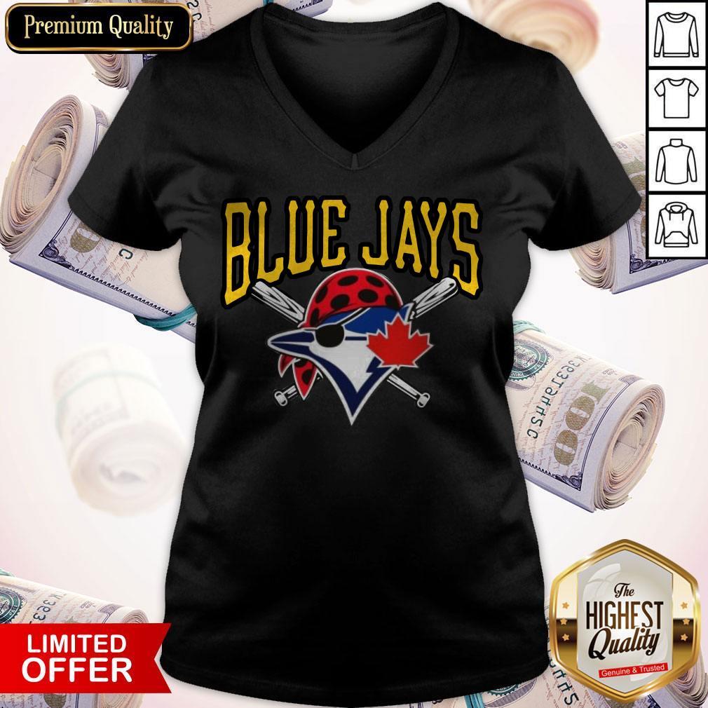 Top Blue Jays Pittsburgh 2020 V- neck