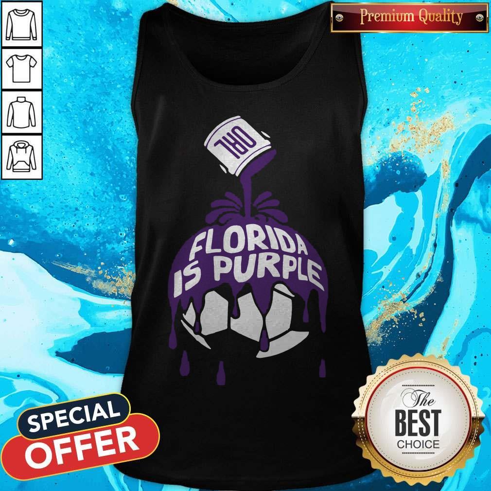 Top Florida Is Purple Tank Top Top Florida Is Purple Tank Top