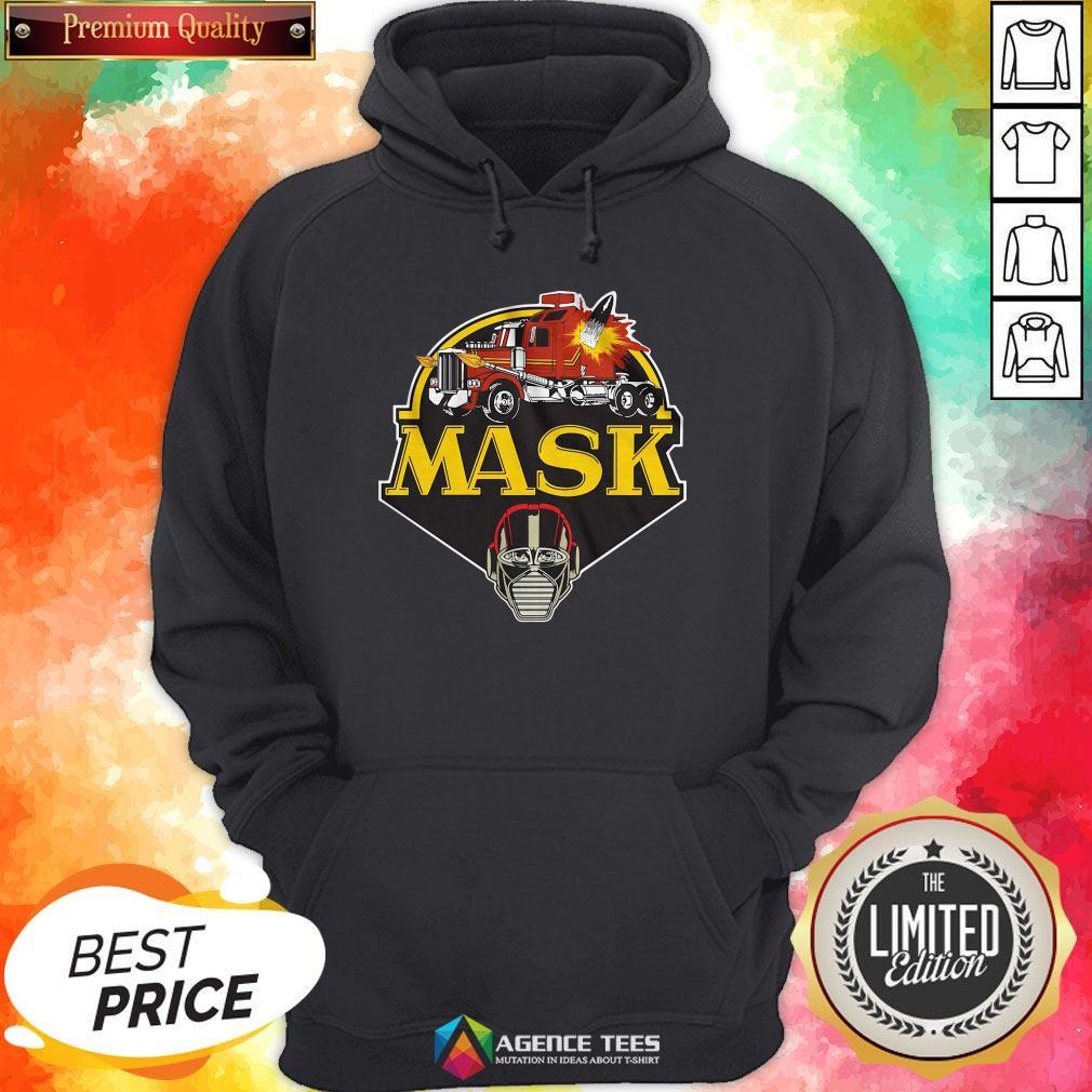 Funny Urban Backwoods Mask Vintage Logo Hoodie Design By Agencet.com