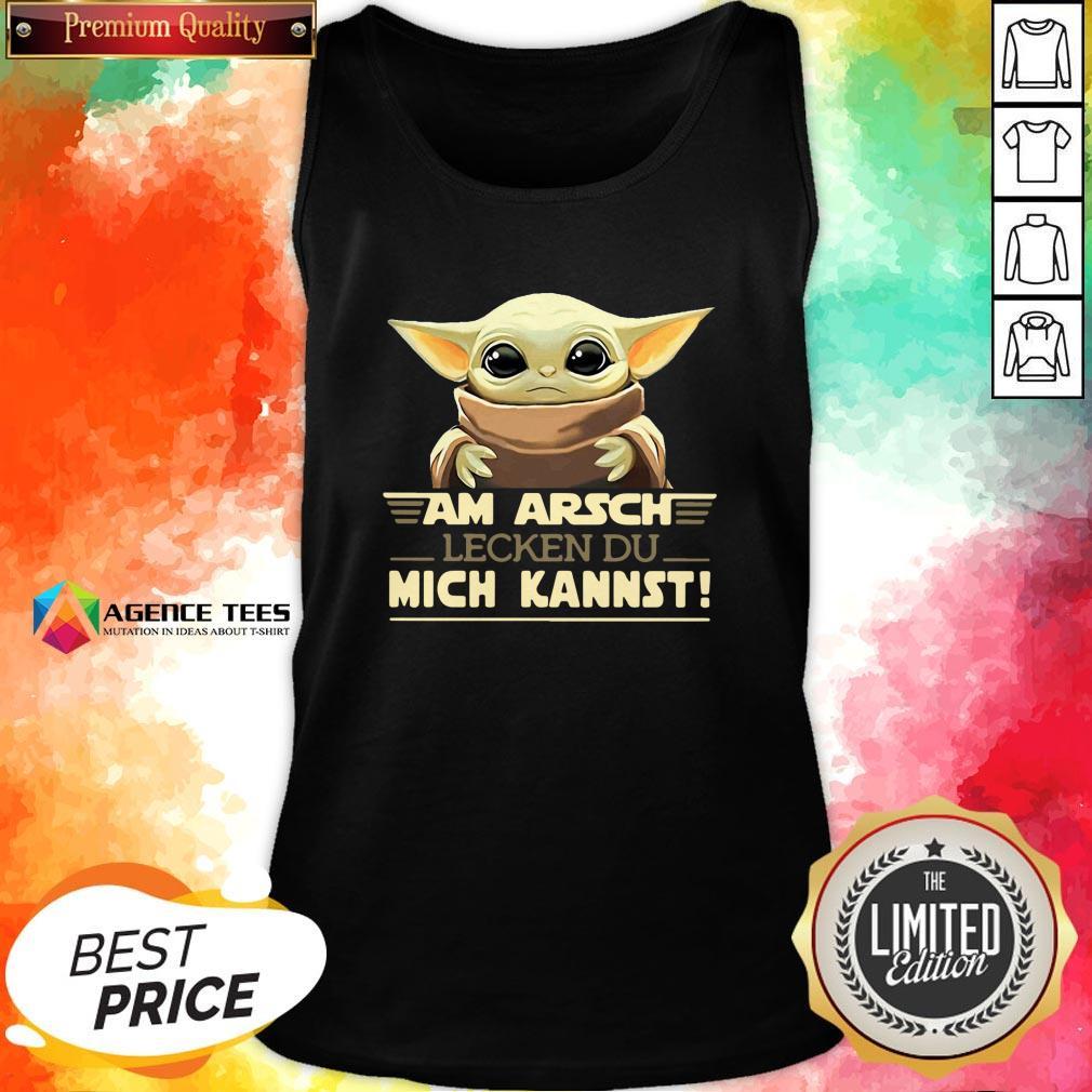 Hot Baby Yodda Am Arsch Lecken Du Mich Kannst T-Tank Top Design By Agencet.com