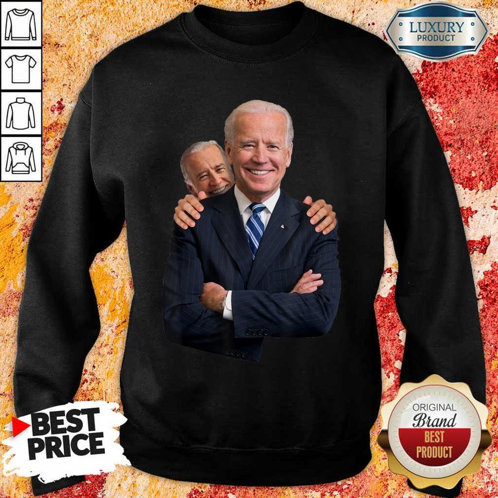 Annoyed Joe Biden Sniff 3 Sweatshirt