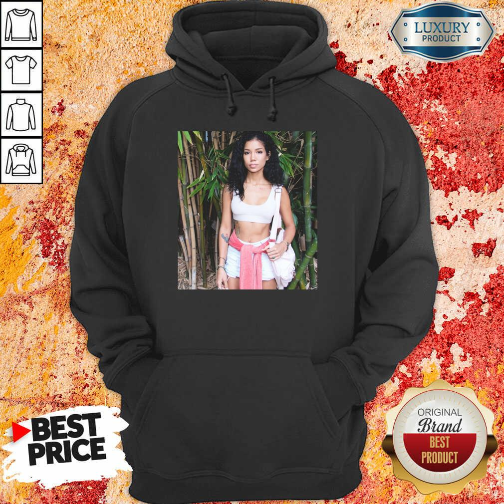 Ashamed Jhene Aiko Trip Black Jhene Aiko Shares 4 Near Death Experience On Hoodie - Design by Agencetees.com