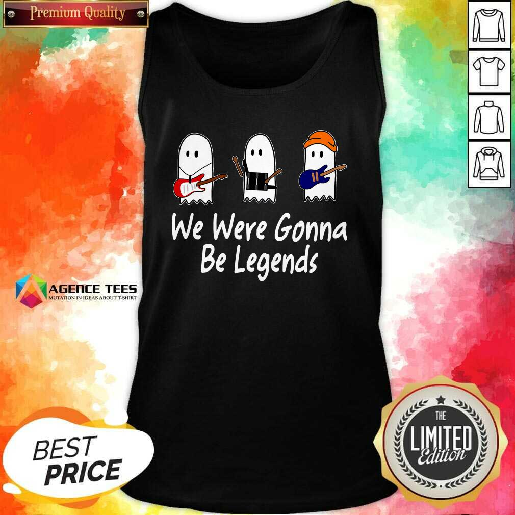Awesome We Were Gonna Be Legends Julie And The Phantoms Ghost Tank Top - Design By Agencetees.com