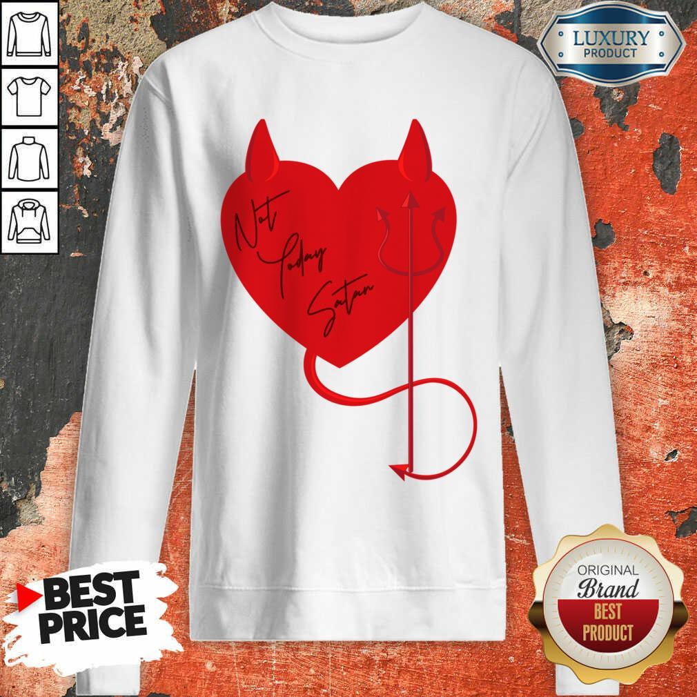 Surprised Satan Heart 4 Valentine Sweatshirt - Design by Agencetees.com
