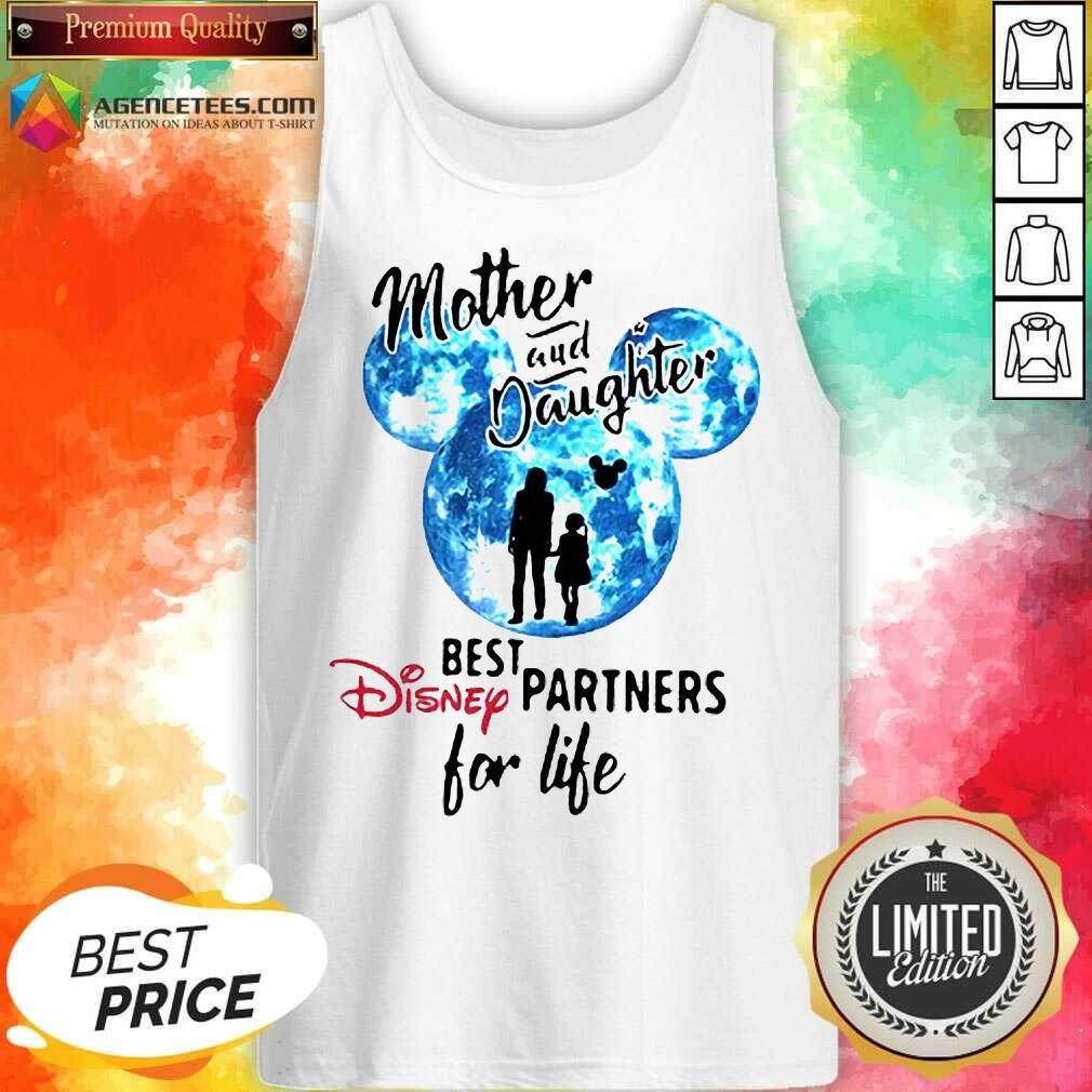 Hot Mickey Mother And Daughter Best Disney Partners For Life Tank Top