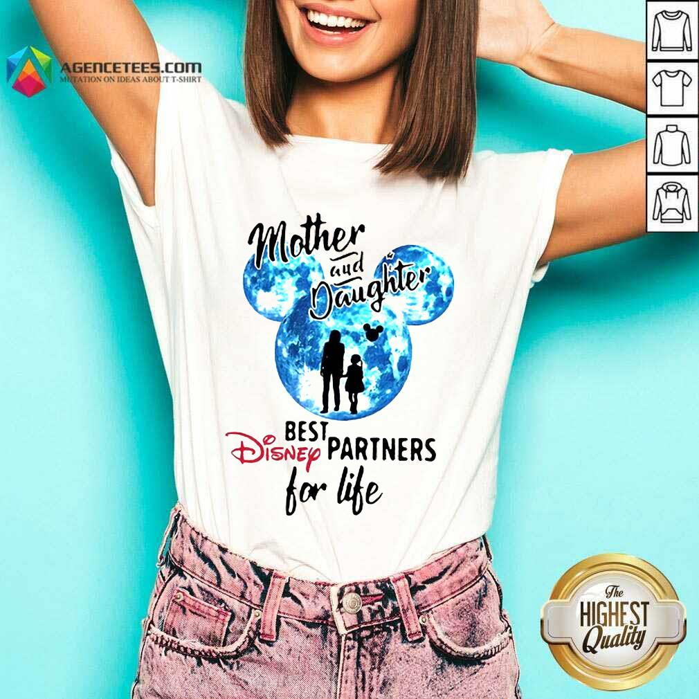 Hot Mickey Mother And Daughter Best Disney Partners For Life V-neck