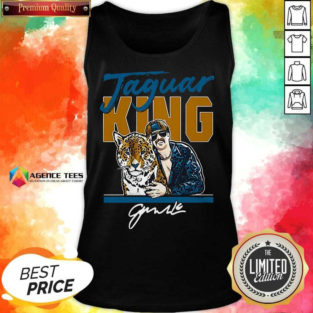 Hot Super Jaguar King Jacksonville Tiger King Tank Top