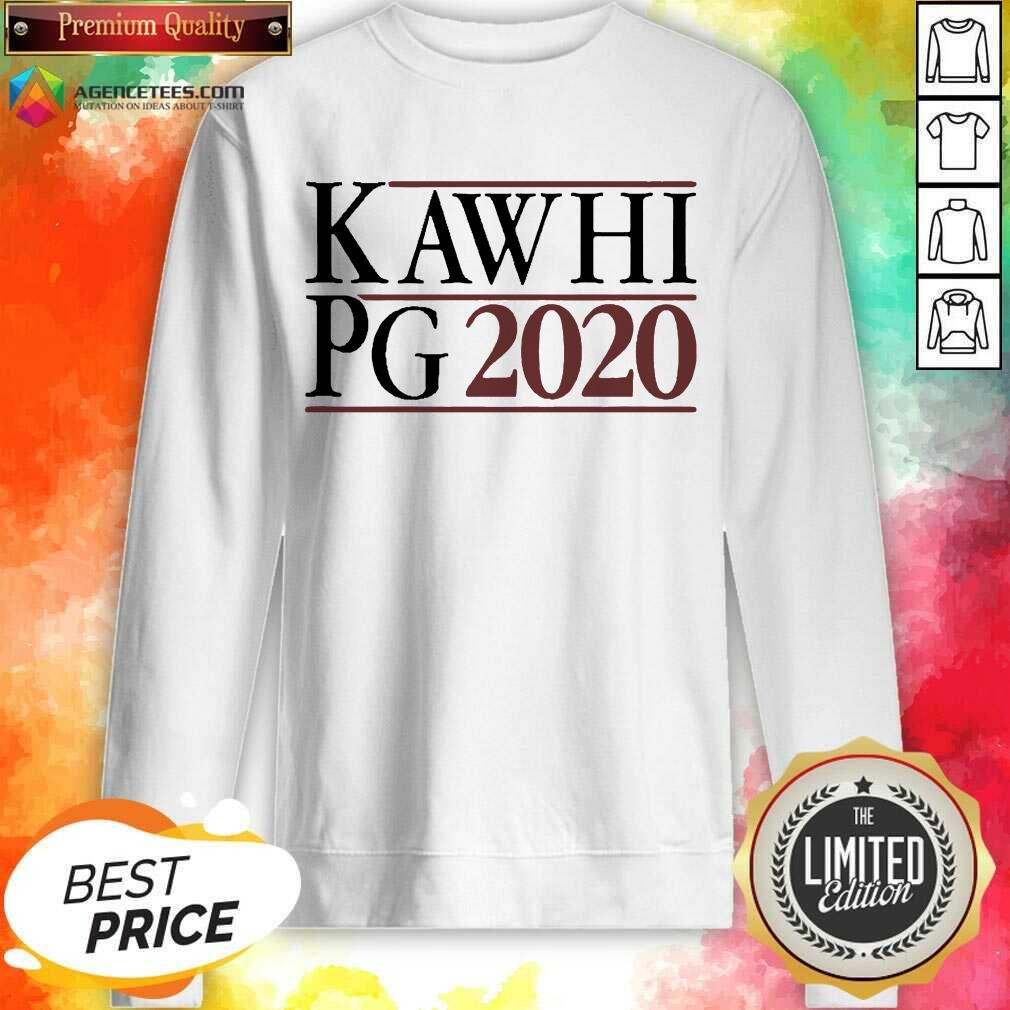Kawhi Pg 2021 Sweatshirt - Design by Agencetees.com