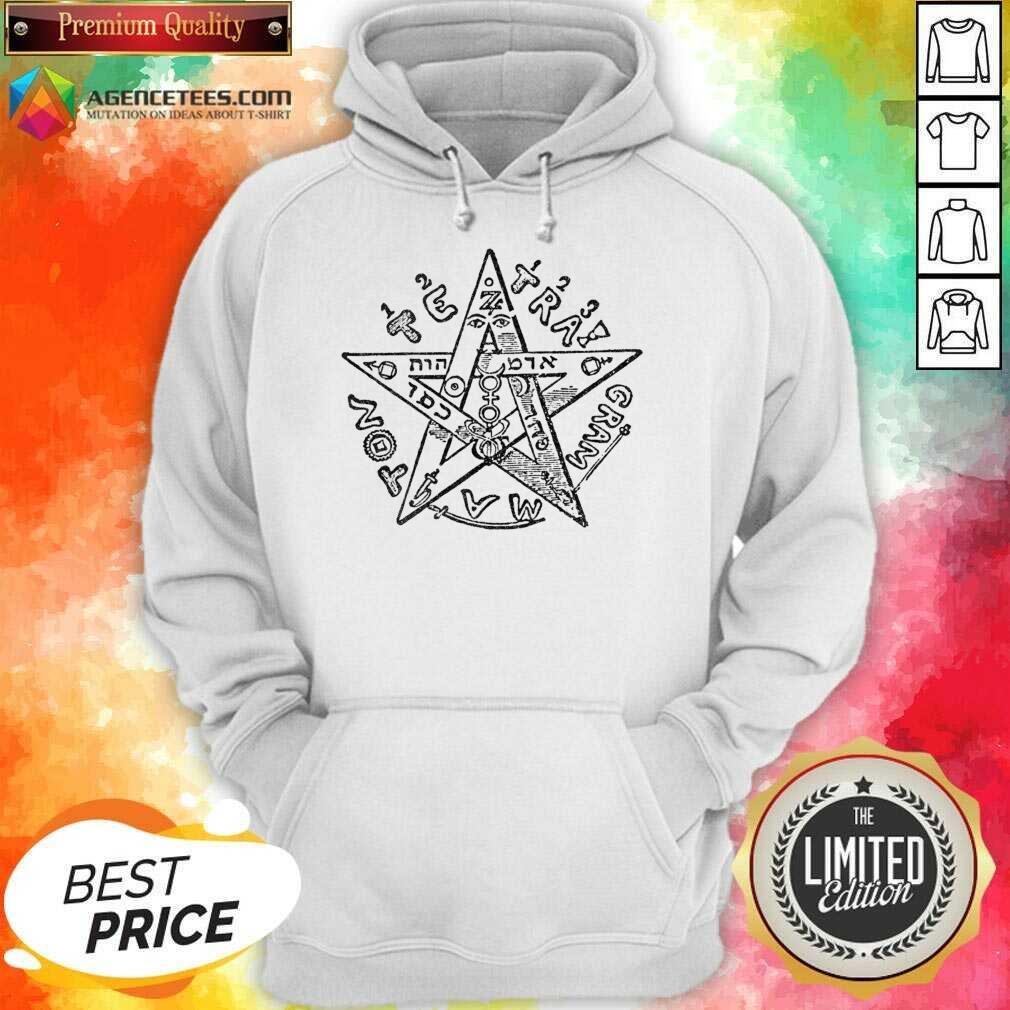 Tetragrammatron 4 Hoodie - Design by Agencetees.com