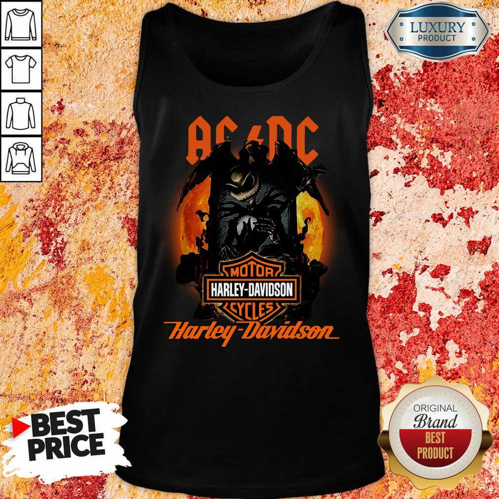 AC DC Motor Harley Davidson Cycles Tank Top