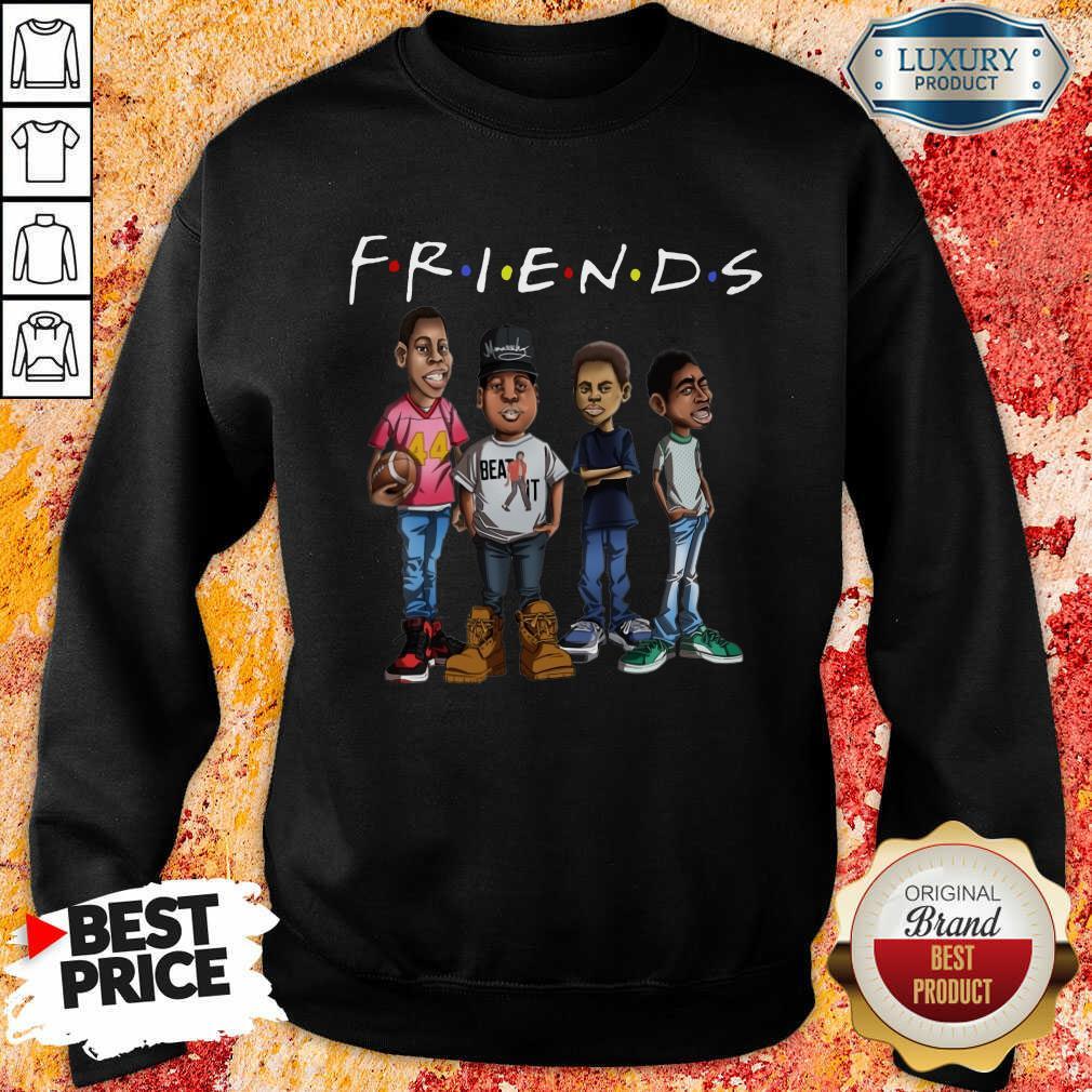 Friends Black Men Brother Sweatshirt