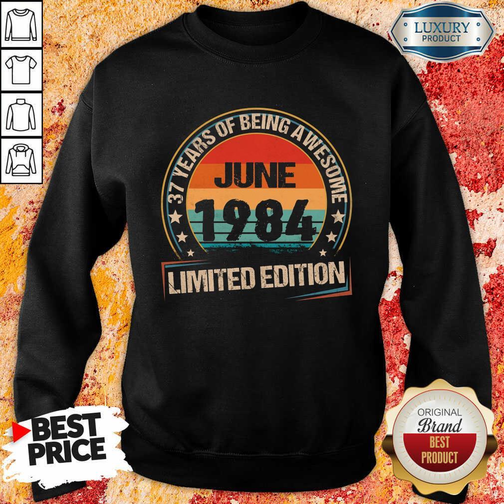 June 1984 Limited Edition Sweatshirt
