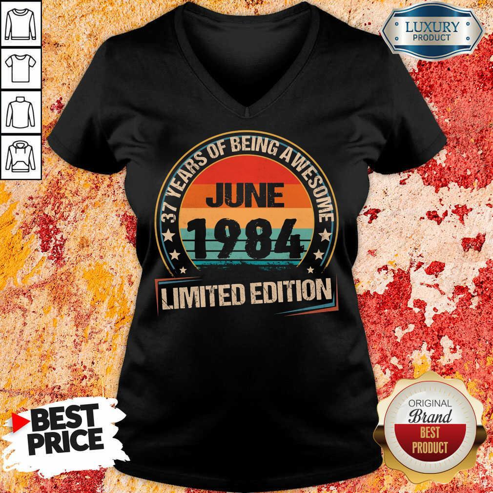 June 1984 Limited Edition V-neck