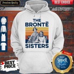 Awesome Book The Bronte Sister Vintage Hoodie