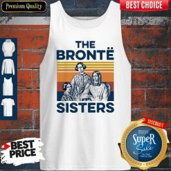 Awesome Book The Bronte Sister Vintage Tank Top
