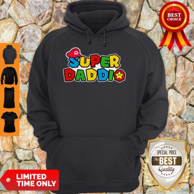 Awesome Daddy Super Mario Super Daddio Hoodie