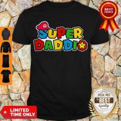 Awesome Daddy Super Mario Super Daddio Shirt