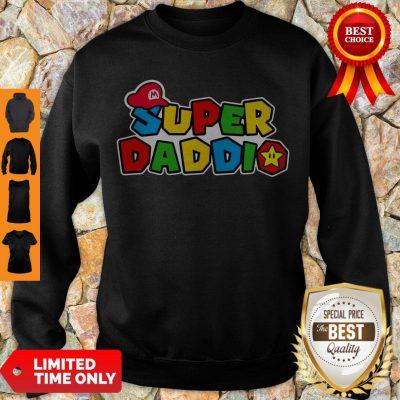 Awesome Daddy Super Mario Super Daddio Sweatshirt