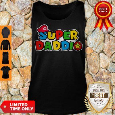 Awesome Daddy Super Mario Super Daddio Tank Top