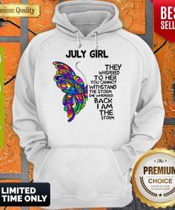 Awesome July Girl Hoodie