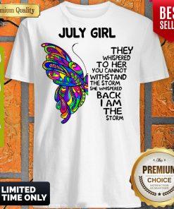 Awesome July Girl Shirt