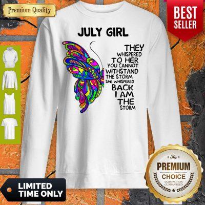 Awesome July Girl Sweatshirt
