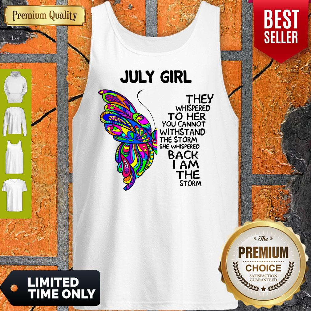 Awesome July Girl Tank Top