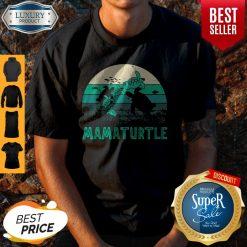 Awesome Mamaturtle Sea Turtle Vintage Version Shirt