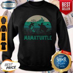 Awesome Mamaturtle Sea Turtle Vintage Version Sweatshirt