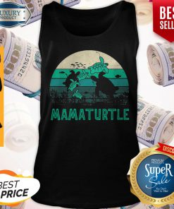 Awesome Mamaturtle Sea Turtle Vintage Version Tank Top