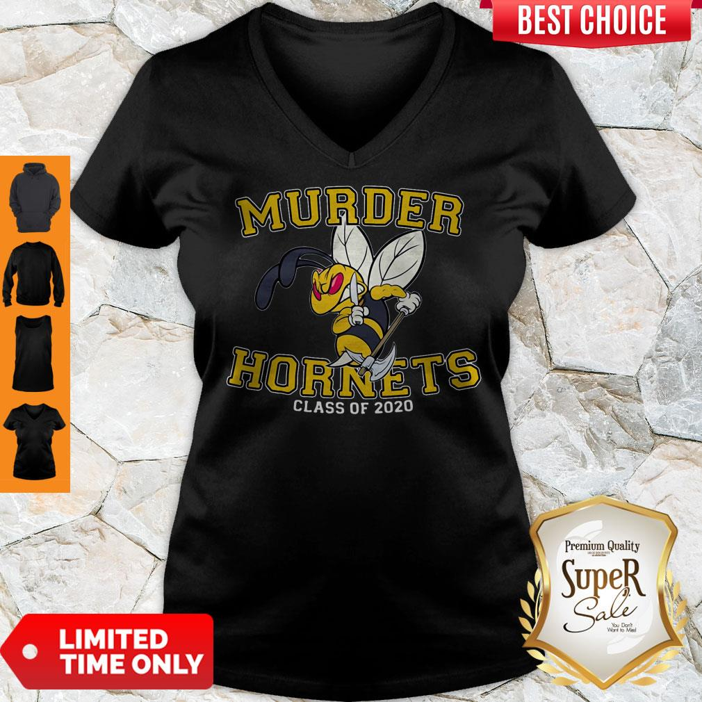 Awesome Murder Hornets Class Of 2020 V-neck