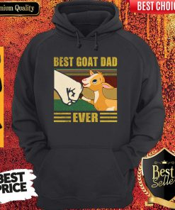 Funny Beat Goat Dad Ever Vintage Father's Day Hoodie