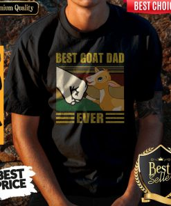 Funny Beat Goat Dad Ever Vintage Father's Day Shirt